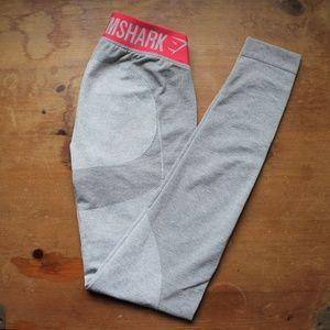 Light Gray GYMSHARK Flex Leggings